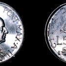 1960 Vatican City 5 Lire World Coin - Catholic Church Italy