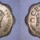 1951 Ceylon Sri Lanka 10 Cent World Coin