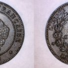 1897-A French 5 Centimes World Coin - France
