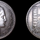 1947 French 10 Franc World Coin -  France