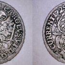 1725-IHL German States Hamburg 4 Schilling World Silver Coin - Holed