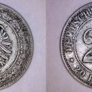 1887-D German Empire 20 Pfennig World Coin - Germany - Holed