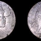 1892 Ethiopian 1 Birr World Silver Coin - Ethiopia - Mount Removed