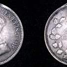 1912 Canadian Nickel 5 Cents Canada Silver Coin - Holed