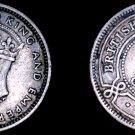 1939 British Honduras 10 Cent World Silver Coin