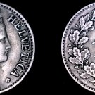 1921 Swiss 10 Rappen World Coin - Switzerland