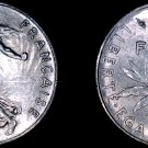 1978 French Half (1/2) Franc World Coin - France