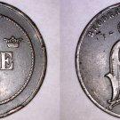1884 Swedish 5 Ore World Coin - Sweden