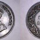 1912 Indian 1/2 Pice World Coin - India