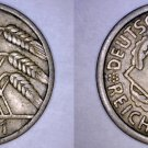 1931 A German 10 Reichspfennig World Coin -  Germany Weimar Republic