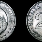 1967 Bolivian 20 Centavo World Coin - Bolivia