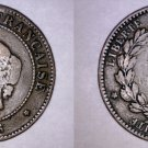 1896-A French 5 Centimes World Coin - France