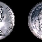 1979 Isle of Man 1 Crown World Coin - Standing Figure and Ship KM-49