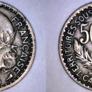 1925 Cameroon 50 Centimes World Coin - French Admin