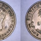 1939 British West Africa 1 Shilling World Coin