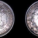 1892-PTS CB Bolivian 50 Centavo World Silver Coin - Bolivia
