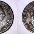 1769 Irish 1/2 Penny World Coin - Ireland - Type II
