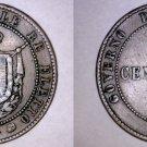 1859 Italian States Tuscany 5 Centesimi World Coin
