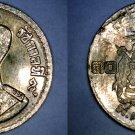 1957 BE2500 Thai 10 Satang World Coin - Thailand Siam Y-79