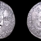1550-E French Douzain Aux Crescent World Coin - France Henry II