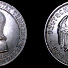 1927-F Weimar Germany 3 Mark World Silver Coin - Tubingen University