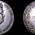1831-A French 5 Franc World Silver Coin -  France Louis Philippe