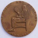 1960 Metallic Art Company 60 Year Anniversary Medal - Very Large