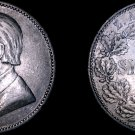 1895 South African 1 Shilling World Silver Coin - South Africa
