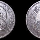 1946 French 5 Franc World Coin - France