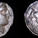 335-315BC Paeonia Patraos AR Tetradrachm Coin - Ancient Northern Greece