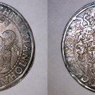 1593 German States Saxony-Albertine 1 Thaler World Silver Coin