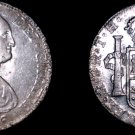 1806 Mo-TH Mexican 8 Reales World Silver Coin - Charles IIII - Pillar Dollar