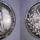 1891 Great Britain 3 Pence  World Silver Coin - UK