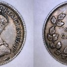 1919 Canadian Dime 10 Cents World Silver Coin - Canada