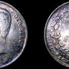 1911 Belgian 1 Franc World Silver Coin - Belgium