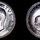 1948 South African 5 Shilling World Silver Coin - South Africa