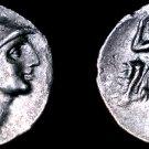 281-278BC Lucania Herakleia AR Nomos Coin - Arichias Magistrate - Ancient Italy
