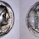 215-203BC Bruttium The Brettian League AR Drachm Coin - Ancient Greece - Italy