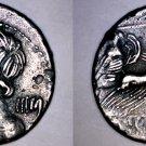 84BC Roman Republic Licinia-16 AR Denarius Coin -Ancient Rome