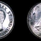 1947 Canada 10 Cent World Silver Coin - Canada - George VI - Maple Leaf