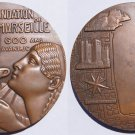 Very Large French Medal - Foundation of Marseille by Greeks