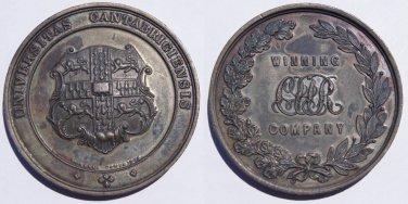 1897 Great Britain Cambridge University Volunteer Rifle Corps Medal