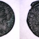 375-392AD Roman Empire Valentinian II AE Reduced Follis Coin -Ancient Rome