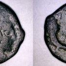 40-70AD Nabataean Empire Malichus II AE Quadrans of Petra Coin