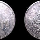 1986 Mexican 1 Peso World Coin - Mexico
