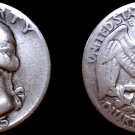 1945-S/S Washington Quarter Silver