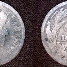 1909-P Barber Dime Silver