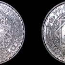 1951 (Year 1370) Moroccan 5 Franc World Coin - Morocco