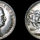 1917-R Italian 1 Lira World Silver Coin - Italy