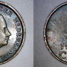 1967 Netherlands 1 Cent World Coin